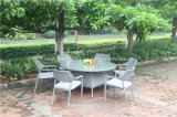 Outdoor Rattan Stackable Chair and Garden Big Kd Wicker Table
