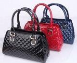 New Fashion and High Quality Lady PU Shining Leather Handbag