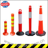 Roadway Flexible Reflective Removable Plastic Traffic Bollards