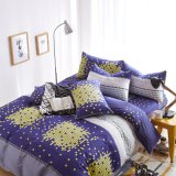 Wholesale Small Quantity Made in China Company Store Design 100% Cotton Quilt Cover Bedding Set