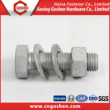 Grade 10.9 HDG Hex Head Bolt Nut and Washer