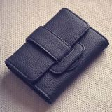 Leisure Women Purse New Designer Fashion Leather Wallet (XQ0646)