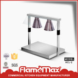 HCl-2e 2-Head Buffet Warming Lamp for Food Display (economical)