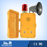 Vandal Resistant Intercom Industrial Emergency Phone for Metro Tunnel