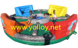 Giant Hungry Hippos Inflatable Bungee Challenge Game