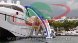 Inflatable Yacht Floating Water Slide Used for Sea
