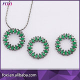 Brazil Fashion Women Semi Joias Pave Jewelry Sets