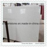 Silver White Manmade Stone Artificial Stone Quartz Slab