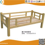 Kindergarten Children Wooden Double Beds Hx4301K