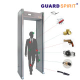 Multi Zone LCD Intelligent High Sensitivity Door Frame Metal Detector for Commercial Building