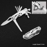Multi Function Pocket Knife with LED Flashlight (#6213)