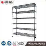 6 Shelf 350kgs Heavy Duty Zinc Epoxy Green Coated Warehouse Storage Metal Wire Shelving Rack