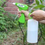 Ilot Hot Sale Garden Tool Battery Operated Detergent Trigger Gun Sprayer with 500ml Bottle