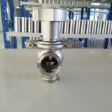 Tri Clamp Manual Flow Control Valve 304 Stainless