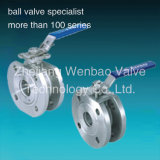 Stainless Steel Wafer Type Italy Ball Valve Pn16