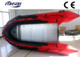 Aluminum Floor 0.9mmpvc, CE Inflatable Boat (FWS-A430)