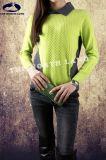Ladies′ 100% Cashmere T Neck Pullover
