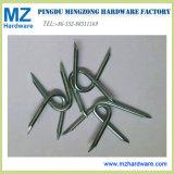 Barbed Diamond Slice Cut Point U Type Nail/U Fence Staple