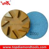 "Diameter 3"" Floor Diamond Polishing Pads with Vecro Back"