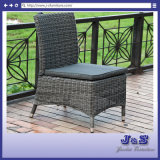 Outdoor Garden Rattan Furniture, 4mm Round Wicker Armless Chair Set (J2381)