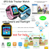 New Touch Screen GPS Tracker with Flashlight and Camera