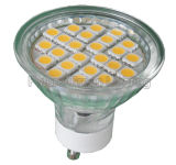 LED Ceiling Spotlight GU10/MR16/E27/E14 2W/3W/4W/5W (24SMD 5050 with glass cover)