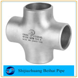 Big Stock of ANSI ASME B16.9 304 316L Stainless Steel Tees Crosses