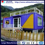 40 Feet Steel Structure Luxury Light Steel Framing Prefabricated Container House