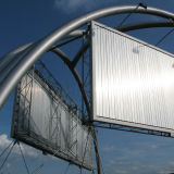 Unique Bridge Installed Trivision Billboard-2 (F3V-131S)