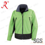 Men′ S Softshell Jacket with High Waterproof Value (QF-465)