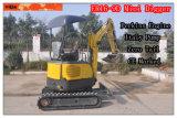 Everun 1.6ton Mini Crawler Excavator with Zero Tail