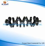 Auto Spare Parts Forged Steel Crankshaft for Toyota 1zr 1ar/1zz/3vz