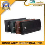New Style Check Wallet with Customized Branding for Gift (KL-001)