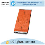 Portable PE Fabric Sleeping Bag Rescue Sleeping Bag