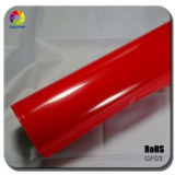 Tsautop 1.52*30m Glossy Red Car Wrap Film with Air Channel