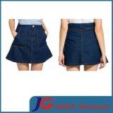 Young Ladies Denim Swing Skirt (JC2104)