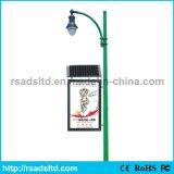 Two Sides Advertising LED Solar Street Light Box