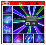 1W RGB 3-in-1 3D Laser Stage Lighting