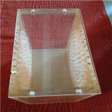 8mm Thickness Acrylic Screwed Box with Holes Magnets Removeable Lid