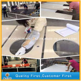 Engineered Artificial Custom Quartzite Stone Counter Tops for kitchen