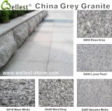 China White/Grey/Black/Red/Pink/Beige Granite Tile for Paving Stone/Floor/Wall Cladding