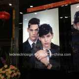Watch Advertising Display for Shopping Mall Wall Mounted Super Slim Light Box