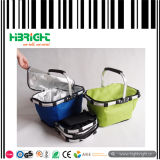 Folding Cooler Picnic Shopping Basket