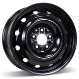 16X6.5 5-114.3 (5-4.5) Winter Steel Wheel Black