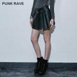 Sexy New Design Hot Teens Party Wear Short Skirt Design (Q-266/BK)