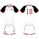 Personalized Men Sublimation Soccer Kits with Your Logos