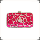 Boxed Large Floral Crystal Evening Handbags (C0865)