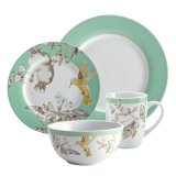Vintage Style Dinnerware Fruitful Porcelain Set