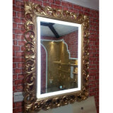 LED Light Antique Mirror for Hotel Bathroom and Guestroom