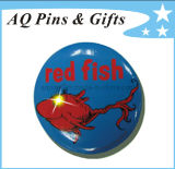 High Quality Tinplate Button Badge with LED Lights (button badge-61)